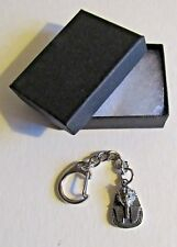 F) KEY-RING PEWTER TUTANKHAMUN MASK PHARAOH DEATH EGYPTIAN GOLD FACE FIND TOMB