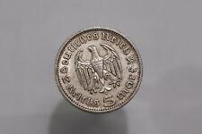 GERMANY THIRD REICH 5 REICHSMARK 1935 A SILVER B26 #K7321