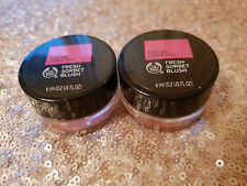2 x The Body Shop Fresh Sorbet Blush - Shade 030 Tuscan Grape - New & Sealed