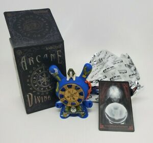 """Kidrobot 3"""" Dunny Arcane Divination Series J*ryu The Wheel Of Fortune 2017 Jryu"""