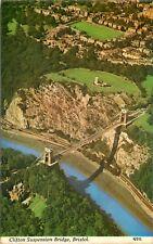 s10472 Clifton Suspension Bridge, Bristol, England postcard unposted