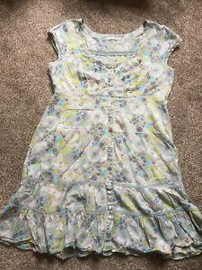 Gorgeous White Stuff Summer Dress Size 16 floral pattern vgc