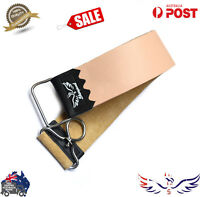SALON STRAIGHT CUT THROAT WET SHAVING RAZOR RASOIR LEATHER SHARPENING STROP BEL