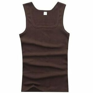 Men's Gyms Casual Tank Tops Bodybuilding Fitness Muscle Sleeveless man's clothes