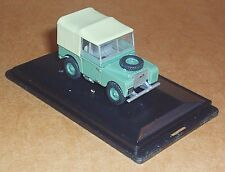 "OXFORD DIECAST LAND ROVER SERIES 1 80"" (HUE) SAGE GREEN 1:76 SCALE MODEL CAR TOY"