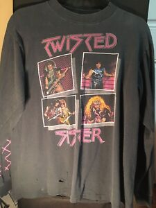 Vintage Twisted Sister Stay Hungry Shirt Size L Metal Dee Snider