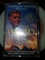Charlton Heston Presents : The Word Selected Psalms [CASSETTE, 1999, NEW]