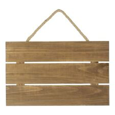 NEW Francheville 3 Slat Wood Hanging By Spotlight