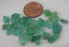 51.00ct or 10.20g Africa Natural Rough Uncut Neon Blue Apatite Crystal Specimens