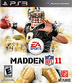 Madden NFL 11 (Sony, Playstation 3) PS3 BRAND NEW SEALED DREW BREES