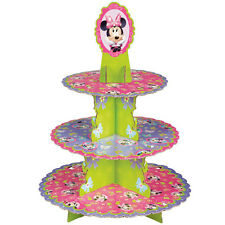 MINNIE MOUSE CLUBHOUSE CUPCAKE STAND TREE 3 TIER cupcake decorations WILTON