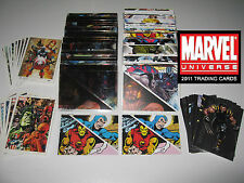 2011 Marvel Universe MASTER SET (Package 2) Parallel/Heroes/Promos/Foil BV=$132!