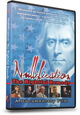 Nullification: The Rightful Remedy - Brand New DVD