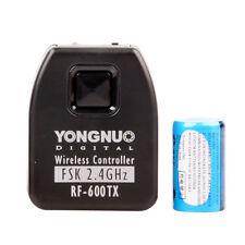 YONGNUO RF-600TX 2.4GHz Wireless transmitters for Canon Camera YN560 III Flash