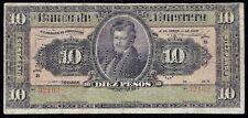 Mexico Banco Guerrero 10 Pesos 1906 - 1914  S-299