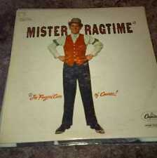 Mister Ragtime, Joe Fingers Carr. Capitol records T760. Original, exc. condition