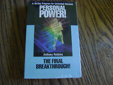 ANTHONY ROBBINS PERSONAL POWER #10-THE FINAL BREAKTHROUGH (NIP)