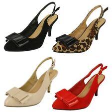 Calzado de mujer zapatos de salón de color principal marrón talla 38