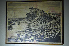 Shepard Fairey - Water is the New Black - Fine Art - HPM - Rare Wave ed/ of 6