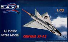 Mach 2 1/72 Convair XF-92 # 7245
