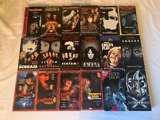 Lot of 18 Horror VHS Tapes Elm Street Halloween Child's Play Scream UNTESTED