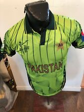 Mens Medium Cricket Jersey Pakistan Icc Cricket World Cup 2015 New With Tags Nwt