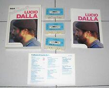 Cofanetto 3 Mc L'ALBUM DI LUCIO DALLA - RCA Musicassette Box