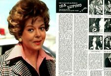 Coupure de presse Clipping 1976 Ida Lupino  (4 pages)