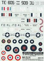 "Carpena decals 1/72 - de Havilland ""Mosquito"" 2º Part (ref 72.31)"