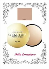 MAX FACTOR CREME PUFF PRESSED POWDER 50 NATURAL 21gm MAKEUP FOUNDATION