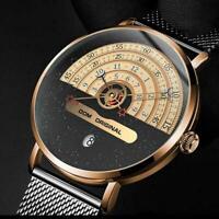 DOM Men's Watch 30m Waterproof Top Brand Luxury Big Dial Creative Quartz G7I5