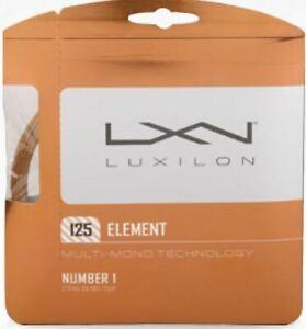 (1,38€/m) Luxilon Element 125 12 m Tennissaiten