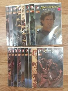 Lot of 17 ARMY OF DARKNESS ASHES TO ASHES Lot 1-4 Set 1 2 3 4 + Variants 2004