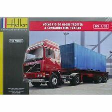 Heller Kit Volvo F12-20 Globetrotter & Container Semi Trailer 1:3 2 Art 81702