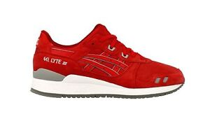 ASICS GEL-Lyte III Red Sneakers for Men for Sale | Authenticity ...