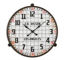 GYMNASIUM Industrial Wall CLOCK Rustic Pool Locker GYM
