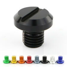 For Yamaha MT-03 MT-09 FZ-09 MT-07 FZ-07 MT-25 2PCS Mirror Block Off Plug Black