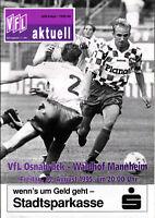 DFB-Pokal 95/96 VfL Osnabrück - SV Waldhof Mannheim, 25.08.1995