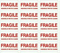"""FRAGILE HANDLE WITH CARE"" STICKERS/LABELS"