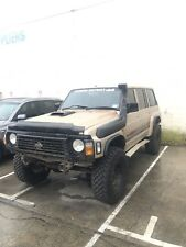 Wrecking 1997 Nissan Patrol Gq Rd28 Turbo Diesel 35s 4inch lift Panhards 4.6