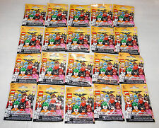 Sealed Set 20 Lego Batman Series 1 Collectible Minifigures Complete CMF 71017
