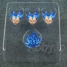 Demoniacal Fit SS Blue Custom Headsculpt Set for SHF S.H.Figuarts Vegeta Figures