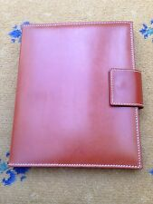 New Tanner Krolle Tan Brown Leather Ipad Case Bridle Hide Albany