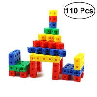 110pcs Interlocking Building Blocks Toy Construction Playset Toys for Kids