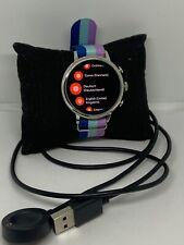 Fossil Gen 4 FTW6017 Women Multicolor Nylon Digital Dial Wrist Smart Watch NA244