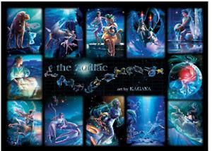 """Jigsaw Puzzles[Glow] 1000 Pieces """"The Zodiac"""" / J.Kagaya"""