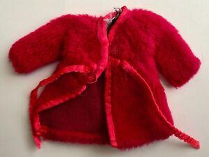 Vintage 1960s Barbie DREAM INS #1867 Plush Red Robe