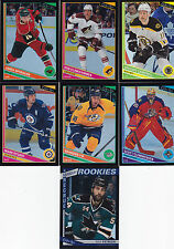 2013-14 O PEE CHEE 7x LOT BLACK RAINBOW /100 NICK PETRECKI RC CLEMMENSEN  ++++