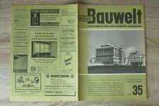 NEUE Bauwelt Zeitschrift Bauwesen Heft 35 27.8.1951 Architektur Allianz Essen