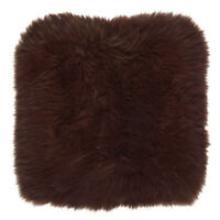 One Sided Genuine Sheepskin Cushion - Pillow Cover by Bowron
